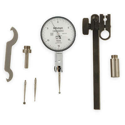 MITUTOYO 513-403-10E Dial Test Indicator,Hori,0 to 0.008 In