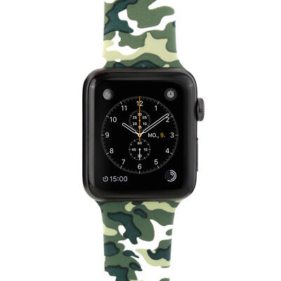 Johnny Palermo HIGHLIFE Armband für Apple Watch 38 mm - Camouflage