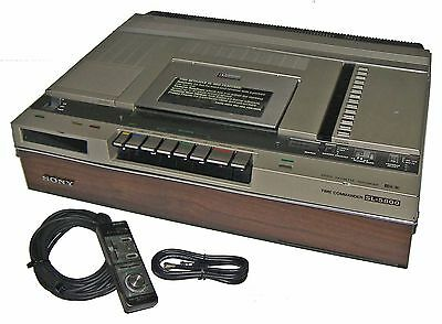 【RARE】80s Sony SL-5800 Betamax Video Tape Recorder/Player!~Ex Working Condition~