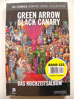 DC Comics Graphic Novel Collection 121 GREEN ARROW BLACK CANARY HOCHZEITSALBUM