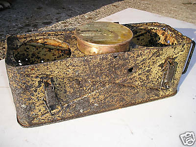 Relic Metall TRANSPORT BOX for bombs WW2 German