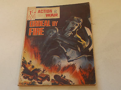 ACTION WAR PICTURE LIBRARY,NO 27,1966 ISSUE,GOOD FOR AGE,51 yrs old,RARE COMIC.