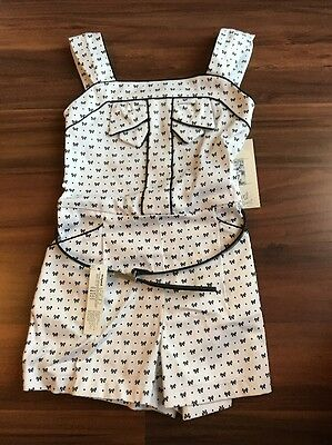 Mayoral Girls Summer Playsuit. Age 3. Brand New With Tags.