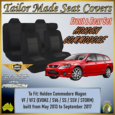 Custom Made Seat Covers - Holden Commodore Wagon VF Sportswagon: 06/2013 - ON