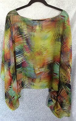 Luxxe Collection Artisan Hand finished Pull-over Top. One Size