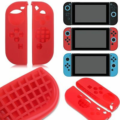 NEW Anti-Slip Silicone Covers Skins Cases for Nintendo Switch Joy-Con Controller