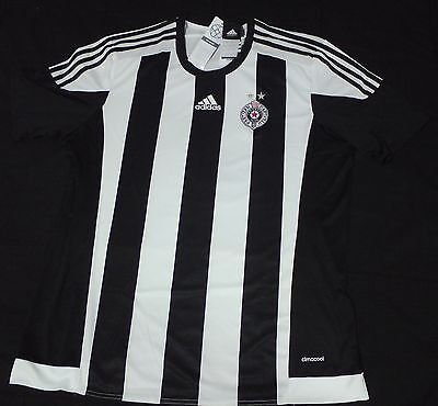 F.C. Partizan Belgrade football shirt jersey trikot NEW with tags ADIDAS