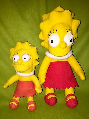 THE SIMPSONS - 2 x LISA SIMPSON Figuren Figur #d4603
