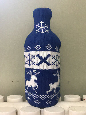 Rare China Version Absolut Vodka Blue Cozy without Bottle