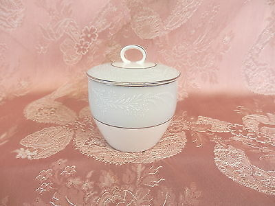 NORITAKE  LAUREATE  Coffee   SUGAR BOWL    # 5651