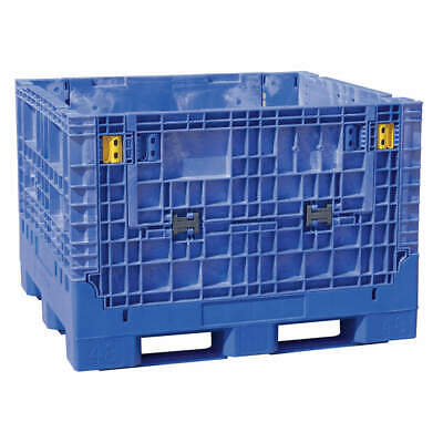 BUCKHORN Collapsible Container,48x45 In,Blue, BN4845342023000, Blue