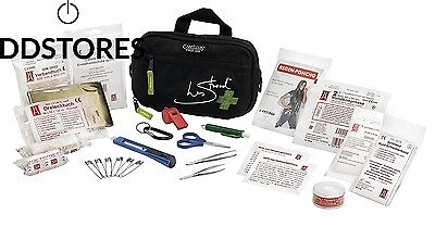 First Aid Only Kit Les Stroud Ebony Grey Taille L