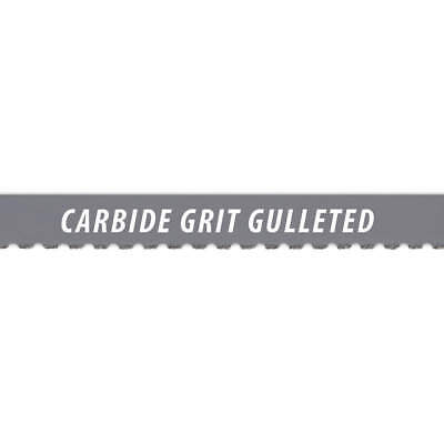 MORSE Carbide Grit Band Saw Blade,10 ft. L ,1/2 In. W, 10' - ZCG040 TCG GM