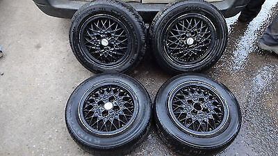 "Vw Polo Bbs Set Of 4 X 13"" Alloy Wheels And Tyres"
