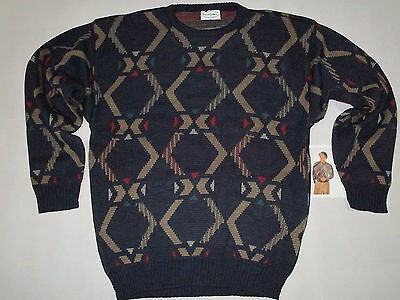 Strick Pullover Pulli Sweater Ugly Christmas X-Mas Vintage Deadstock 90s 52 NEU
