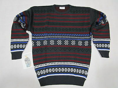 Strick Pullover Pulli Sweater Ugly Christmas X-Mas Vintage Deadstock 80s 90s  54