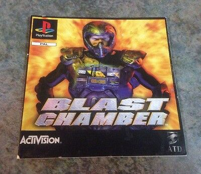 Blast Chamber Playstation 1 Instruction Booklet / Manual Ps1