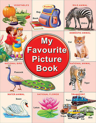 Primary School Soft Cover Educational My Favourite Picture Book, 40 Pages-EB11A