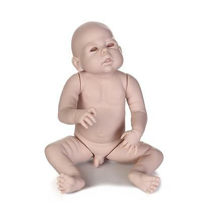 """23"""" Reborn Baby Doll DIY Unfinished Kits Head Arms Legs Baby Doll"""