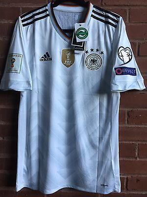 GERMANY National Team Manuel Neuer Player Version JERSEY!! Men's Size Medium
