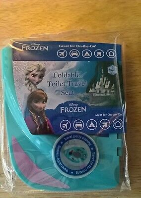 Disney Frozen Children's Portable / Adaptalble Toilet Seat Potty Training New!!!