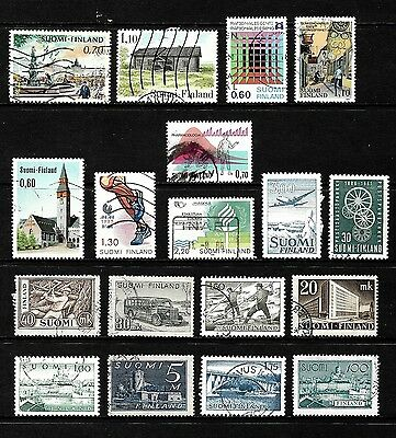 Finland.......fantastic  Postage Stamps From Finland................80918