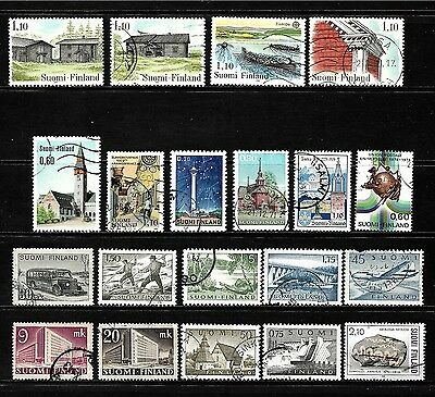 Finland.......fantastic  Postage Stamps From Finland................80920