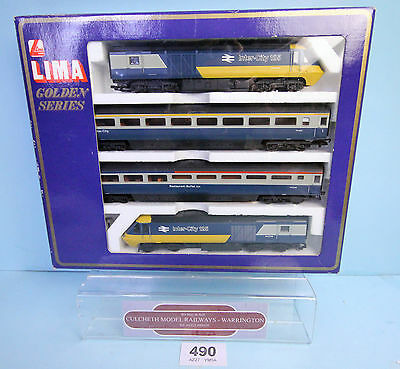 Lima 'oo' Gauge Intercity 125 Blue/grey Class 43 Train Pack Inc Coaches #490