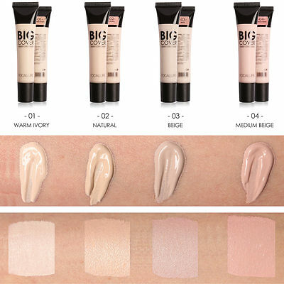 FOCALLURE Makeup Liquid Concealer Hide Blemish Black Eye Circle Lip Cover Cream