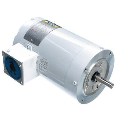 LEESON Washdown Motor,1-1/2 HP,Face Mounting, 113024.00