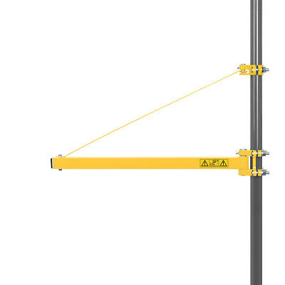 Powerplus 750mm to 1100mm Extending Electric Hoist Swing Arm Lifting Winch