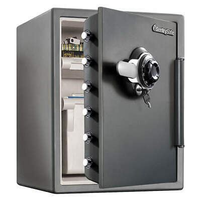 SENTRY SAFE Steel Fire Safe,2.05 cu ft,Gray, SFW205DPB, Gray