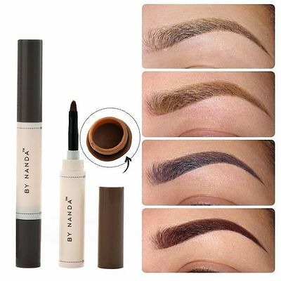 Makeup Eyebrow Mascara Cream Eye Brow Shadow Kit Waterproof Dye Eyebrow Gel