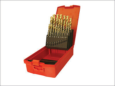 Dormer A095 Set 201 A002 HSS TiN Coated Jobber Drill Set of 19 1.0-10.0 x 0.5mm