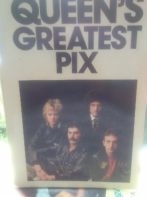 Queens Greatest Pix 96 Page Book 1981 Rare Including Discography
