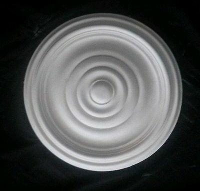 Plain Victorian Ring Plaster Ceiling Rose 15 Inch