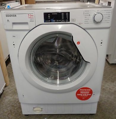 Hoover HBWD7514DA Built In - 7Kg - 1400 Spin Washer Dryer - White (999)