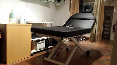 massage table electric totally adjustable head hole