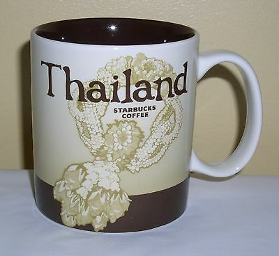 Starbucks Coffee Mug Global Icon Collector Series Thailand New Never Used