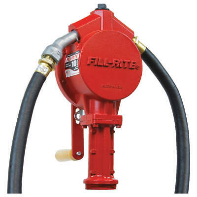 FILL-RITE Hand Drum Pump,Rotary, 3/4In FNPT, FR112A