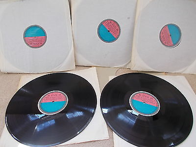 DECCA SET 242  WAGNER  SIEGFRIED   Ultra Rare Set of UK Decca Test Pressings EX+