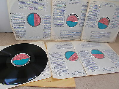 DECCA SET 292 6 LP   WAGNER - GOTTERDAMMERUNG   Ultra Rare Test Pressings - EX+