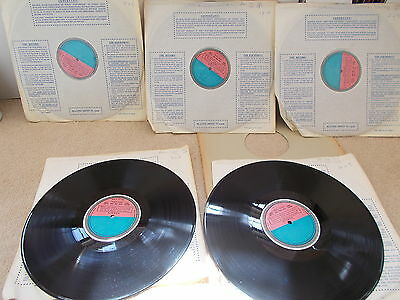 DECCA SET 312   WAGNER   DIE WALKURE  Rare Complete set of UK Test Pressings EX+