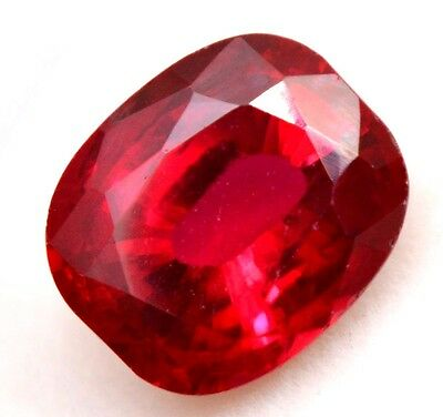 12.55 Ct Natural Pigeon Blood Red Mozambique Ruby GGL Certified Oval Cut Gem