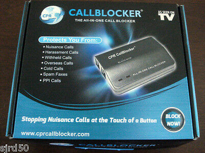 CPR 106 Call Blocker - Block All Types Of Nuisance Calls
