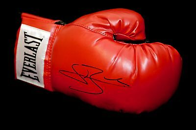 *New* Conor Benn Signed Red Everlast Boxing Glove: A