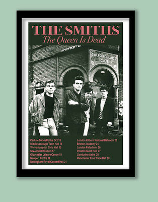 THE SMITHS  POSTER . FINAL TOUR PROMO LARGE B2 (50 x 70 cm )PRINT