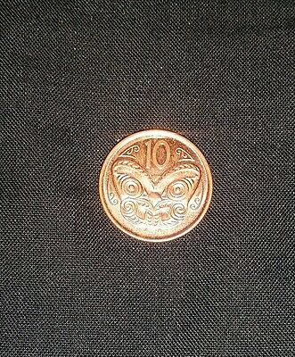 2006 1P Coin - 10 New Zealand - Rare One P Coin For Collectors