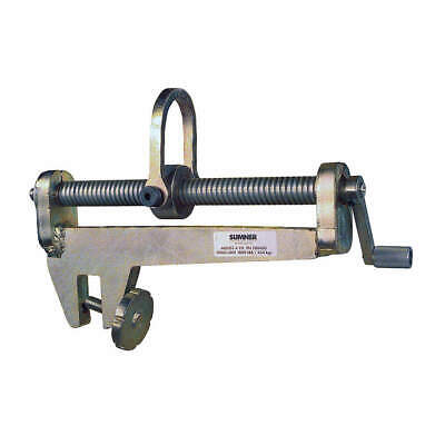 SUMNER Hoist Alignment Tool,45 Deg,1000 lb. Cap, 780420, Steel Gray
