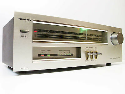 Vintage Toshiba ST-T30 Tuner Stereo AM FM LW Bands Receiver Flywheel Tune -JAPAN